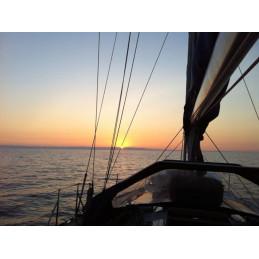 Un giorno in barca a vela sulla costa romagnola