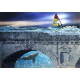 """Ponte di Tiberio serie """"Rapsodia in blu"""""""