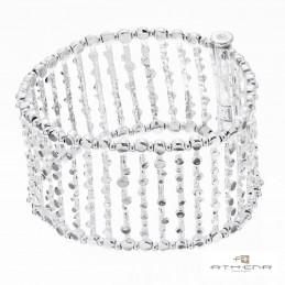 Bracciale in argento naturale by Athena Gioielli