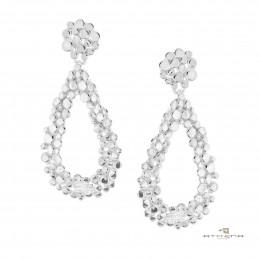 Orecchini in argento naturale by Athena Gioielli