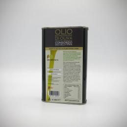 Olio Extra Vergine Di Oliva Leccino 500 ml latta