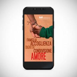 """Auguri digitali """"L'amore è vita"""""""